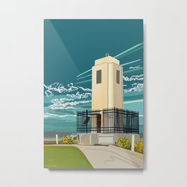 Lighthouse Brown's Point Metal Print
