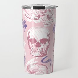 Fondant Skull Pop Pattern Travel Mug