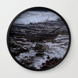 Stormy Seas Wall Clock