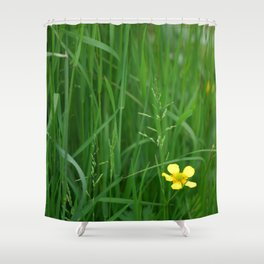 Flowers Izby Garden 5 Shower Curtain