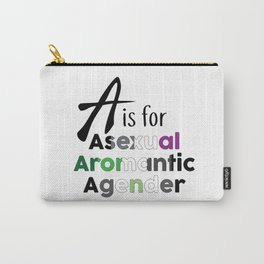 A is for Carry-All Pouch