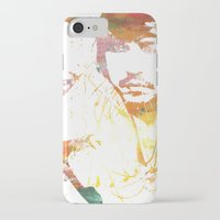 johnny depp iPhone & iPod Cases featuring Johnny Depp by Nechifor Ionut