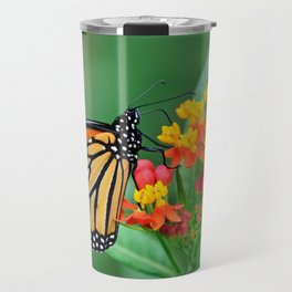 Monarch's Busy Day Travel Mug