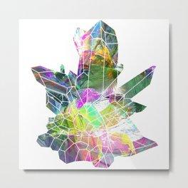 Quartz crystals 2 Metal Print