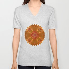 Abstract 388 Unisex V-Neck