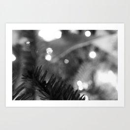 Blur//Brush Art Print