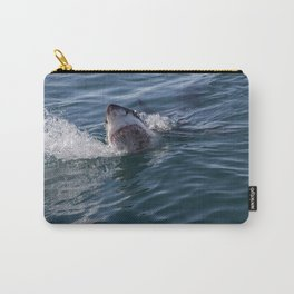 Great White Shark smiles Carry-All Pouch