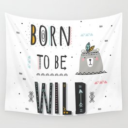 Born to be Wild Wall Tapestry