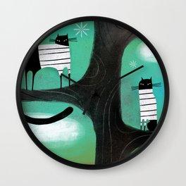 TREE LOUNGE Wall Clock