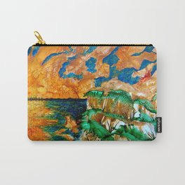 Sun sky in the evening Carry-All Pouch