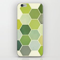 Shades of Green iPhone Skin