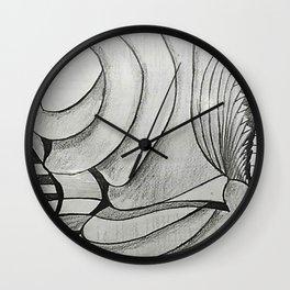 SIN ROSTRO Wall Clock
