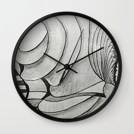 SIN ROSTRO Wall Clock