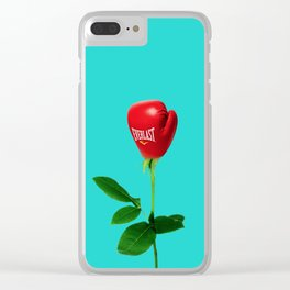 Rose Punch Clear iPhone Case