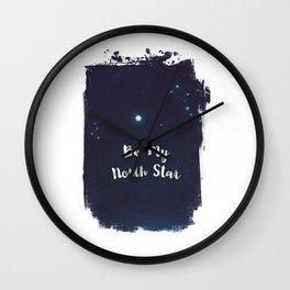 be my north star Wall Clock
