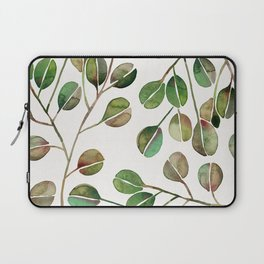 Silver Dollar Eucalyptus – Green Palette Laptop Sleeve