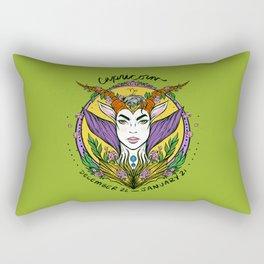 Zodiac: Capricorn Rectangular Pillow