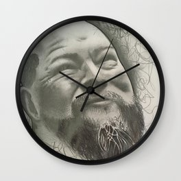William Tragedy Yager Wall Clock