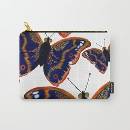 Purple Emperor Butterflies Carry-All Pouch