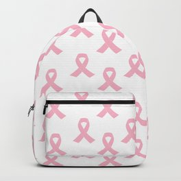Pink Ribbon - breast cancer awareness month Backpack