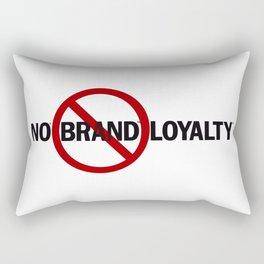 No Brand Loyalty Rectangular Pillow