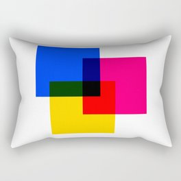 CMYK 02 Rectangular Pillow