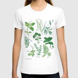 Kitchen Herbs T-shirt