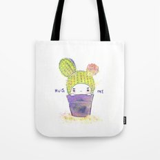 the secret wish of a cactus Tote Bag