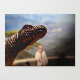 Monster view Canvas Print