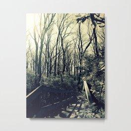 Giants Loom Overhead Metal Print