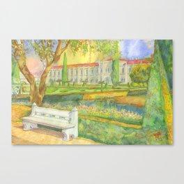 garden. jardim Canvas Print