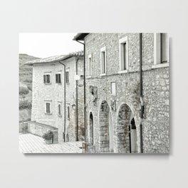 Italian street view 02 Metal Print