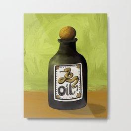 Snake Oil Metal Print