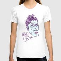 david lynch T-shirts featuring DAVID LYNCH by Josh LaFayette