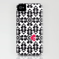 Skullz and Lace iPhone (4, 4s) Slim Case