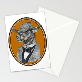 Min-Pin Holmes Stationery Cards