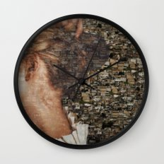 SHE IS LOST. Wall Clock