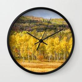 An Autumn Day Wall Clock