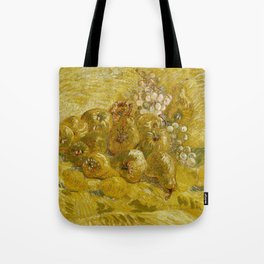 Quinces, Lemons, Pears and Grapes by Vincent van Gogh Tote Bag