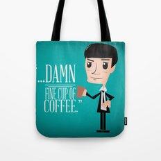 Agent Cooper Tote Bag