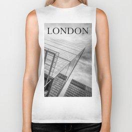 London skyscraper Biker Tank