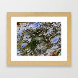 Face your fading World Framed Art Print