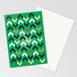 "Lucky Number ""Chevron"" Stationery Cards"