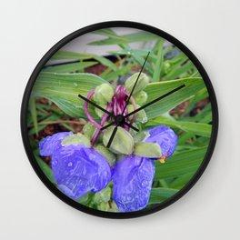 Knotty Flower Wall Clock