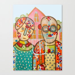 The American Gothic Canvas Print