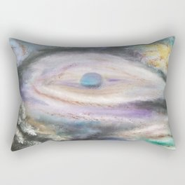Reflect the Cosmos Rectangular Pillow