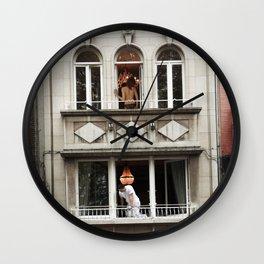 Three Rooms Wall Clock