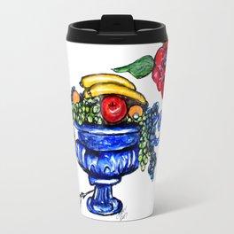 Classic Fruit Bowl Digital Enhanced Travel Mug