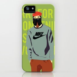 Marcos dont' obey iPhone Case