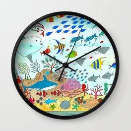 Oceanário de Lisboa Wall Clock